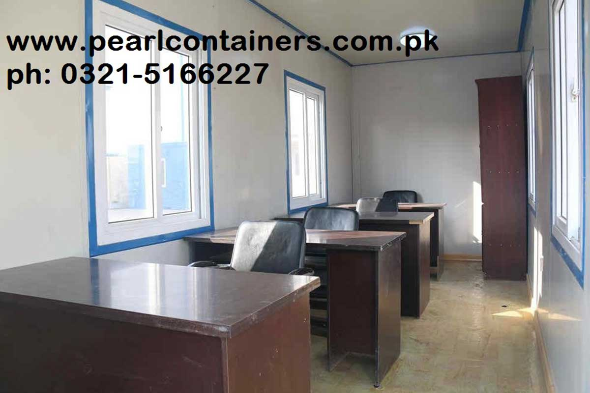 Manufacturers of portable cabins office containers for Site office design